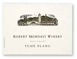 In My Wineglass Robert Mondavi Winery 2001 Fumé Blanc